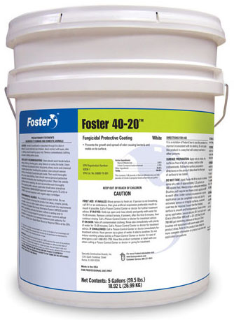 Fosters 40-20 Fugicidal Protective Coating