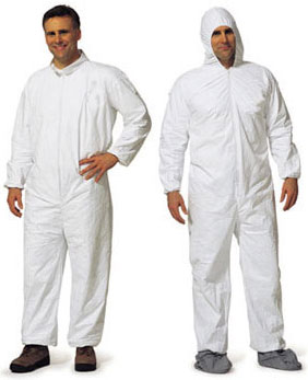 ProMax Coverall w/ Attached Hood, Boots and Elastic Wrists #1014