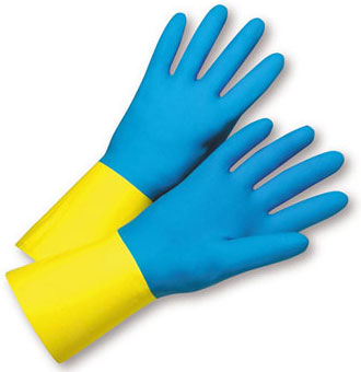 West Chester Neoprene Over Latex Unsupported Glove 2224